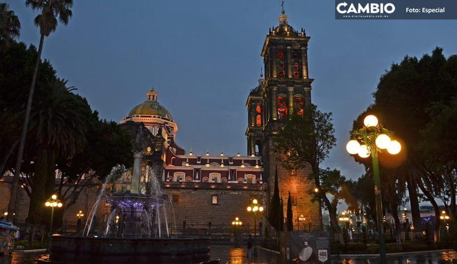 Alarma por coronavirus y ahora también apagón en el Centro Histórico de Puebla (VIDEO)