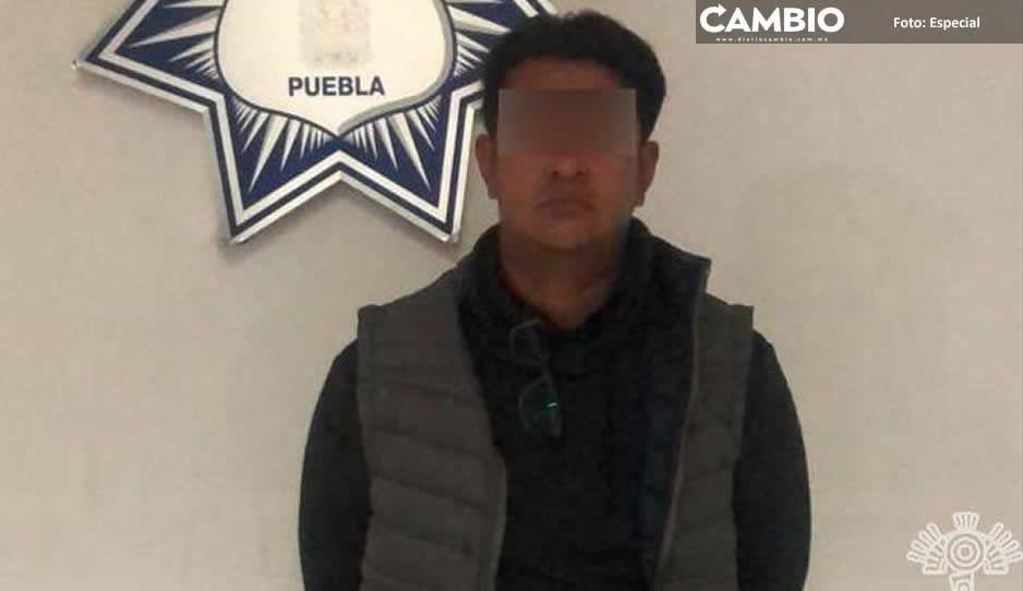 Detienen a pollero con indocumentados  centroamericanos en la México-Puebla
