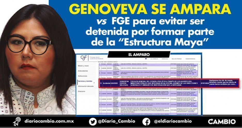 """Genoveva se ampara vs FGE para evitar ser detenida por formar parte de la """"Estructura Maya"""""""