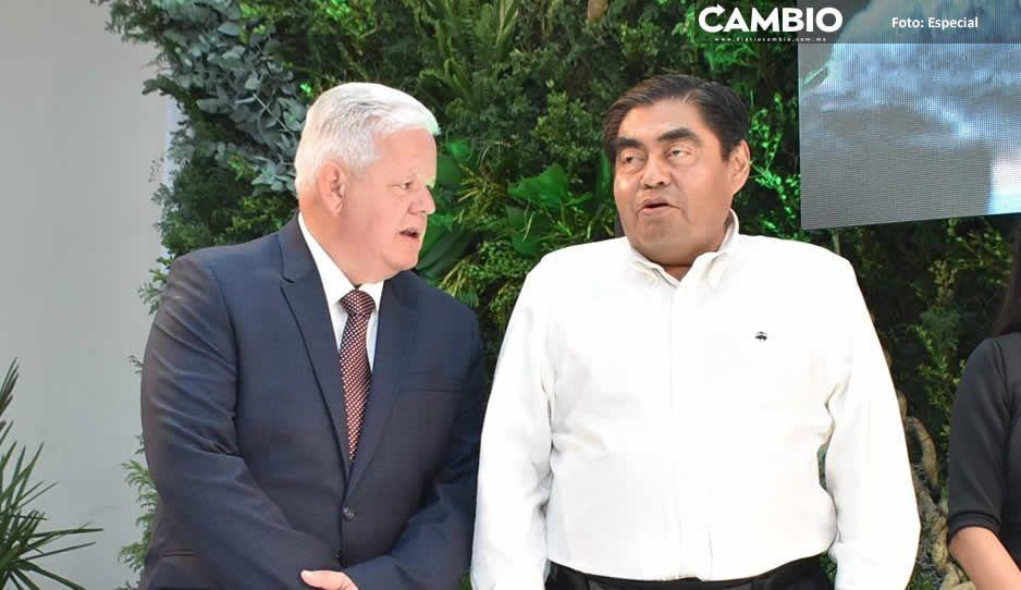 Barbosa reconoce el trabajo del alcalde Peredo  en Teziutlán ante contingencia por COVID