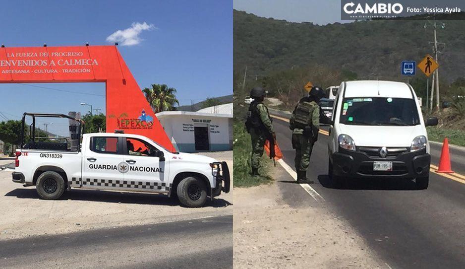 Continúan los operativos en la Izúcar-Tepexco tras secuestro de general de la Sedena