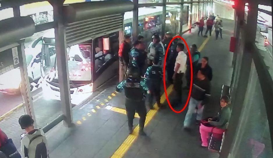 Atrapan a acosador en la Línea 2 del RUTA, cuando hostigaba a una joven