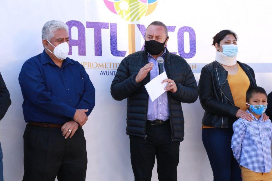 Ayuntamiento de Atlixco inicia reencarpetamiento de vialidad principal en la colonia Flores Magón