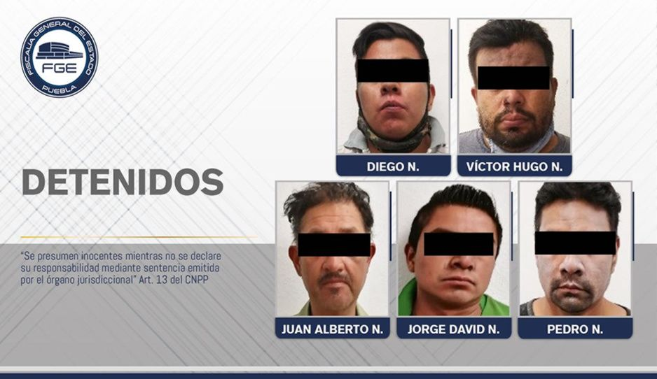 Dan prisión preventiva a secuestradores que mutilaron y mataron a tortillero en Puebla