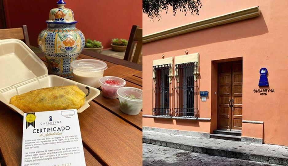Hasta el 30 de septiembre Casa Reyna ofrecerá chiles en nogada; confían que el COVID no frene ventas