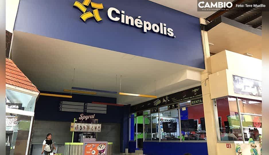 ¡Ya urge! Buscan abrir cines en dos semanas en Puebla