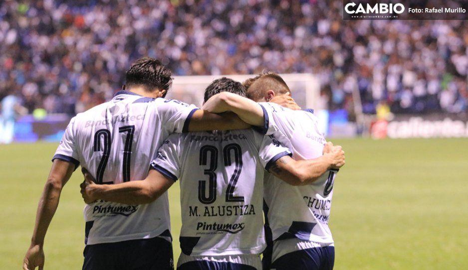 Club Puebla con mayor posibilidad de entrar a la Liguilla con el repechaje del Apertura 2020
