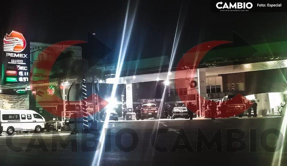 Sujetos armados asaltan gasolinera Wurts de Xicotepec