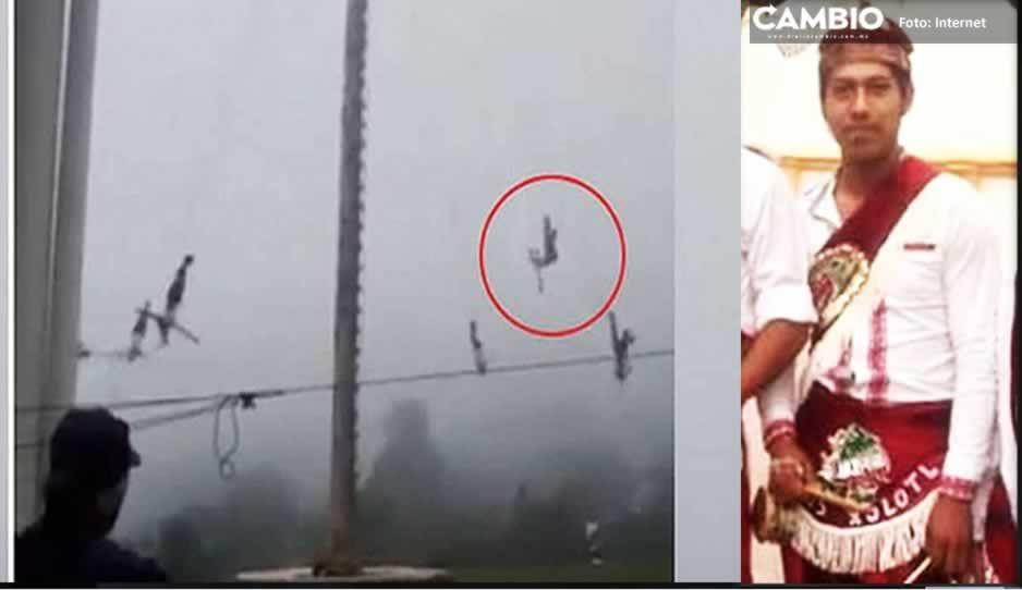 Familia pide apoyo para volador de Pahuatlán que se debate entra la vida y la muerte tras brutal caída