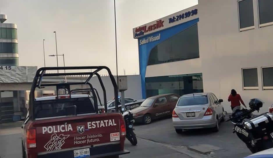 Ratas sin miedo al Covid: encañonan a personal médico y  atracan clínica Intralasik (FOTOS)