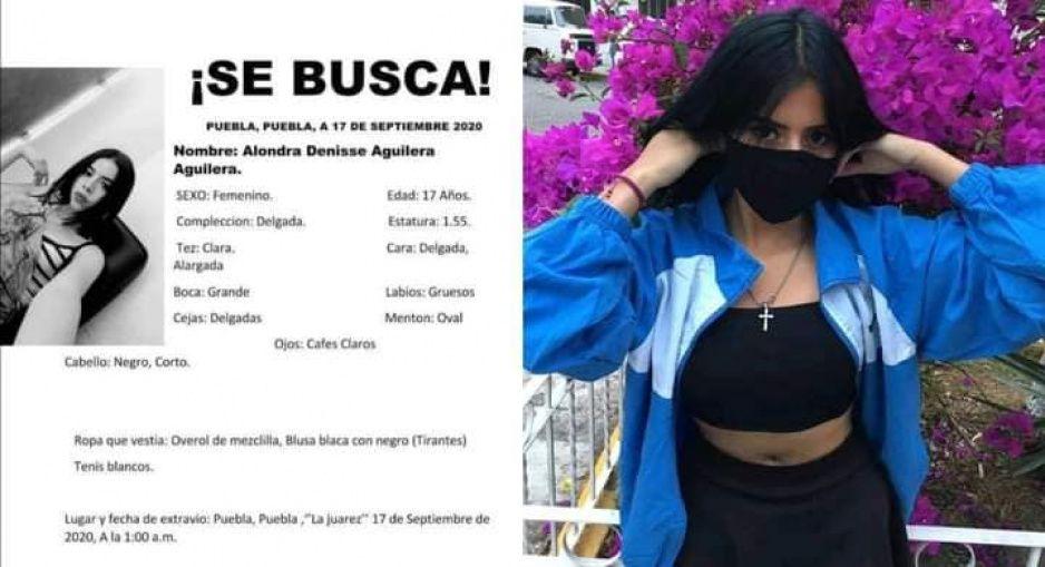 Desaparece Alondra Denisse de 17 años en La Juarez ¡Ayuda a encontrarla!