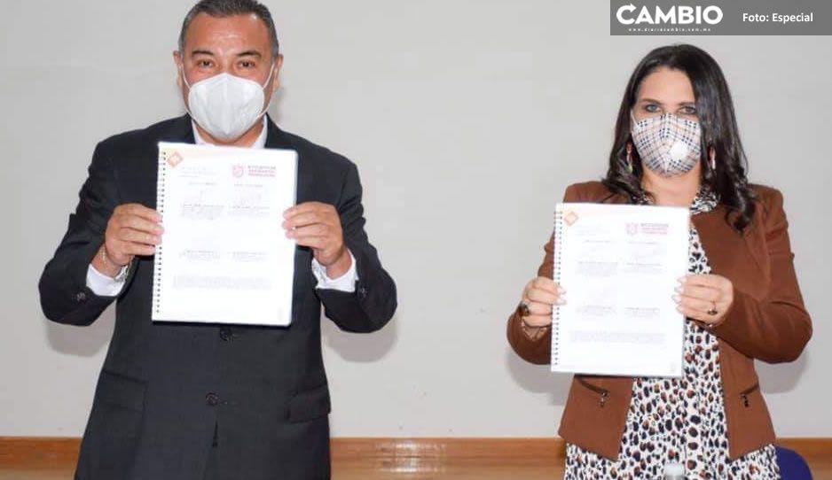 Norma Layón firma convenio de colaboración con la SSP