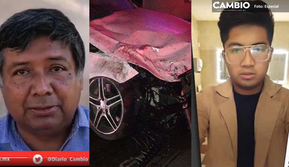 Padre de Juan Carlos denuncia al MP por descartar que el briago del Mercedes iba tomado