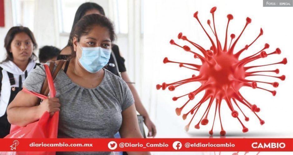 Contagios por coronavirus se extiende a 38 municipios de Puebla