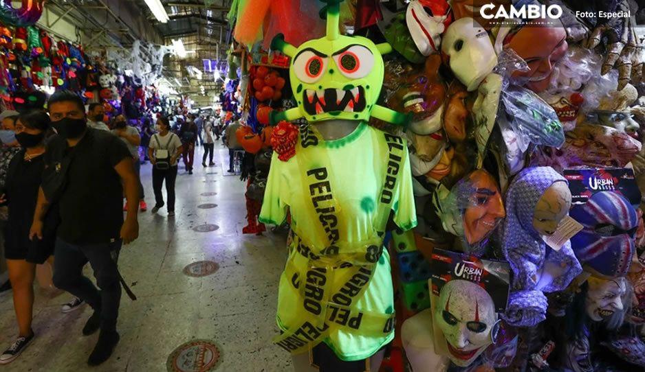 Disfraz de Coronavirus la nueva sensación del Halloween 2020
