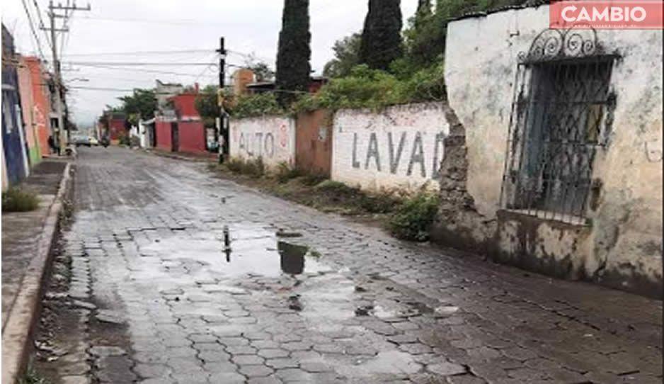 Tras fuertes lluvias, 20 colonias de Atlixco se quedan sin servicio de agua potable