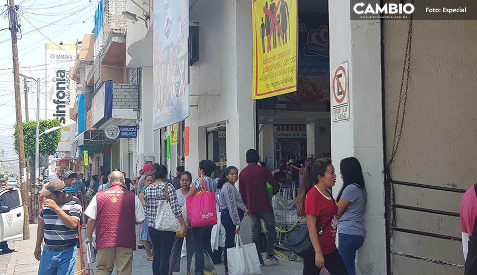 Reportan altos precios en insumos básicos y cae la Profeco a tiendas de Tehuacán