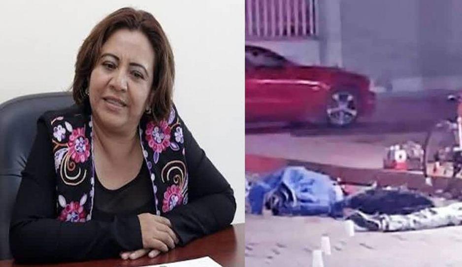 Rectora UTT y masacre afuera de Oxxo Tecamachalco