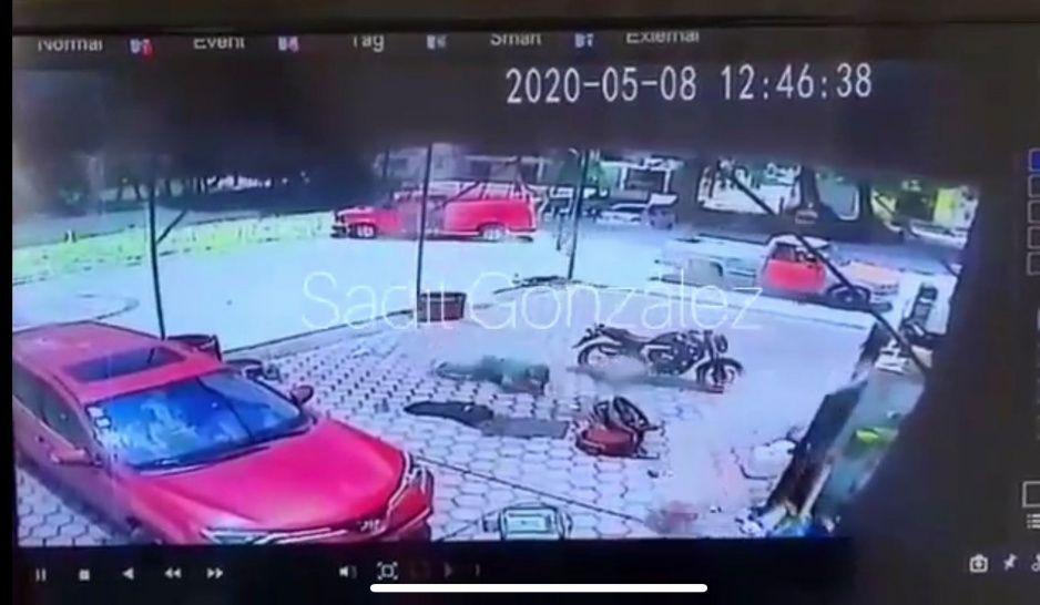 No es Sinaloa, es la mega balacera que se armó en Texmelucan (VIDEO)