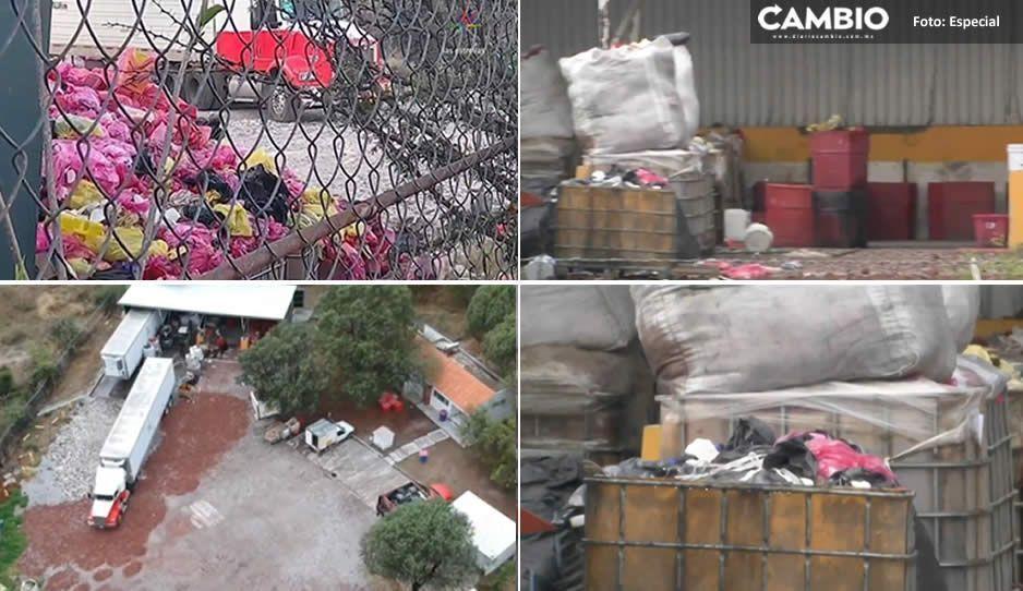 Spesa tiene 6 semanas para retirar basurero Covid en Cuautinchán