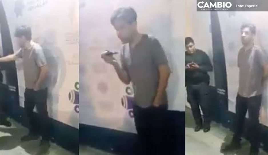 Paga 2 mil 464 pesos exdirector de Comunicación de Tehuacán para salir de los separos