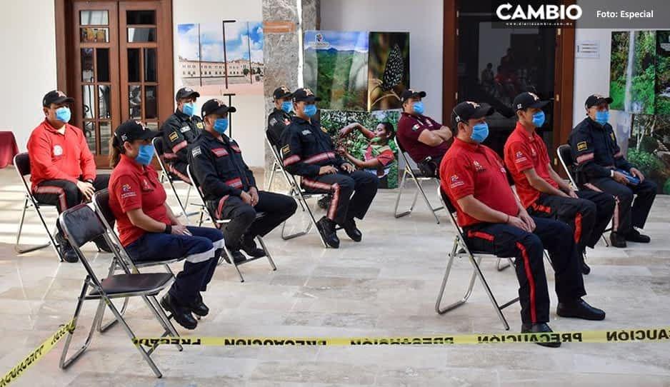 Huauchinango reporta casos de COVID en protección civil y seguridad pública