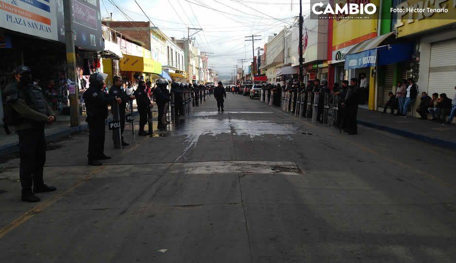 Ayuntamiento prevé reabrir circulación de  la calle 16 de Septiembre en Texmelucan