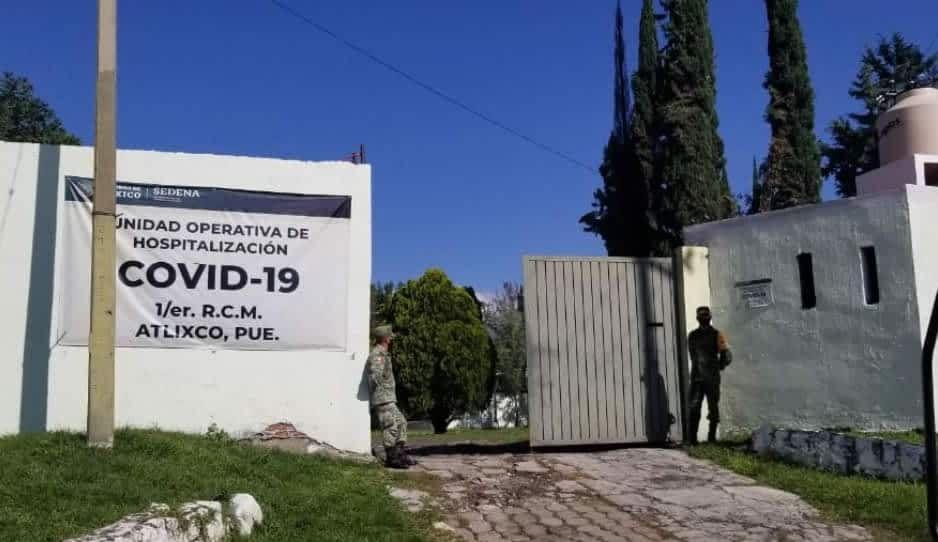 Unidad Operativa Hospitalaria del Ejército en Atlixco sigue funcionando