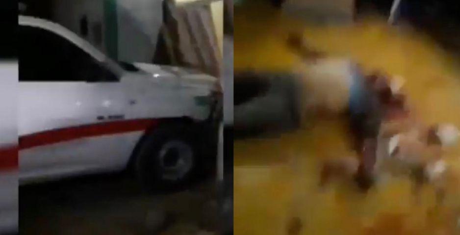 Lo de la combi no es nada: Linchan a secuestrador y destrozan comandancia en Tlacotepec (VIDEO)