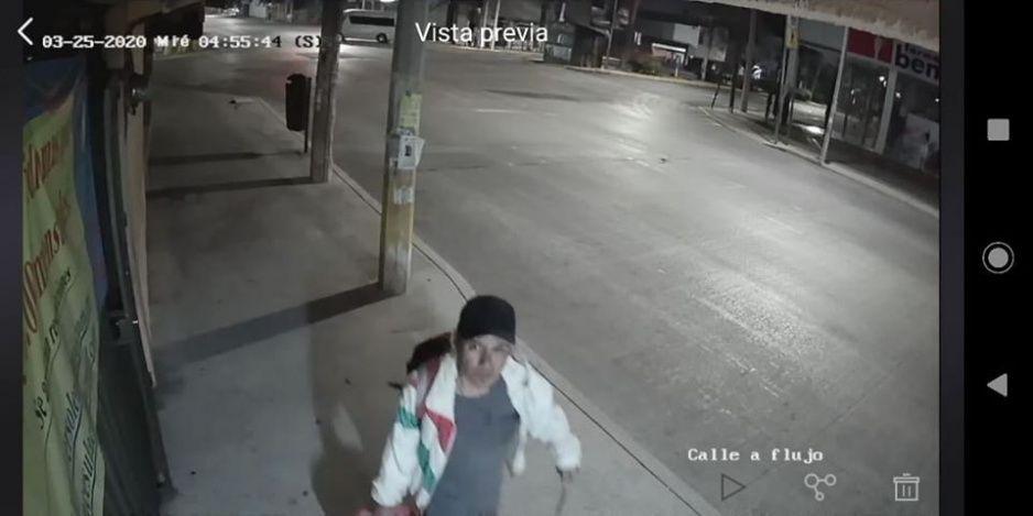 Rata aprovecha cuarentena del Coronavirus para robar cámaras de seguridad en la Bella Vista (VIDEO)
