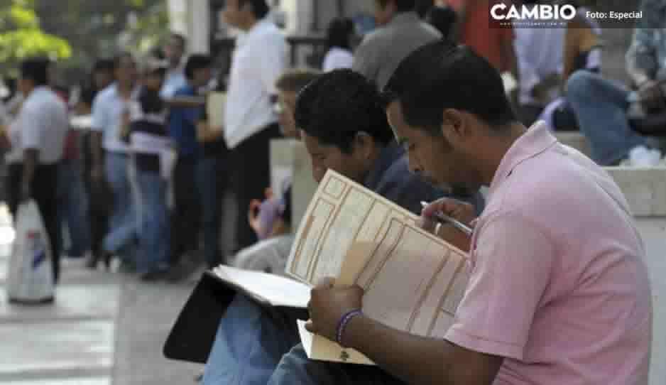Mexicanos desempleados; 7 de cada 10 jóvenes tienen dificultad para encontrar trabajo