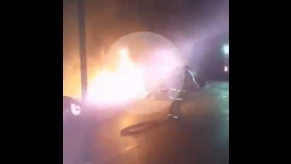VIDEO: Terrible accidente en el Arco Poniente corta la circulación