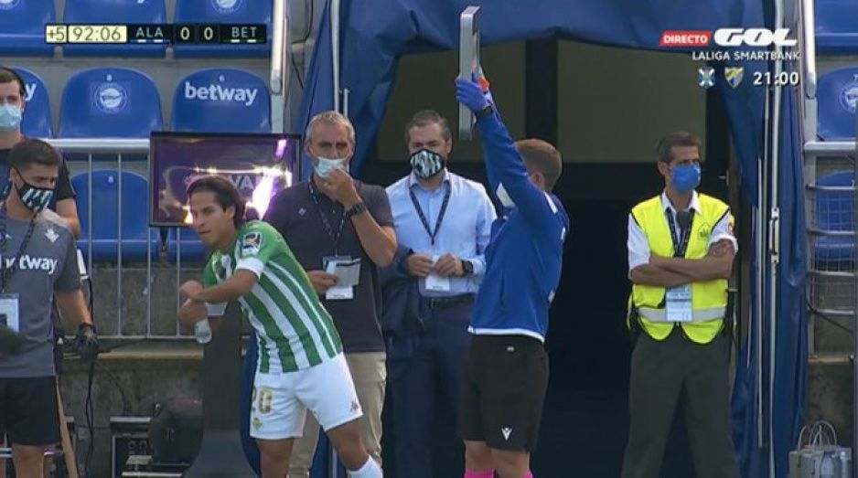 Entra Lainez cinco minutos y gana el Betis al Alavés (VIDEO)