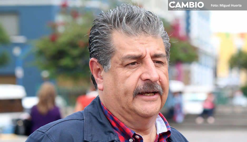 Instala Ecoloco Vargas túnel sanitizante,  pero avanza su hotelito en Huauchinango