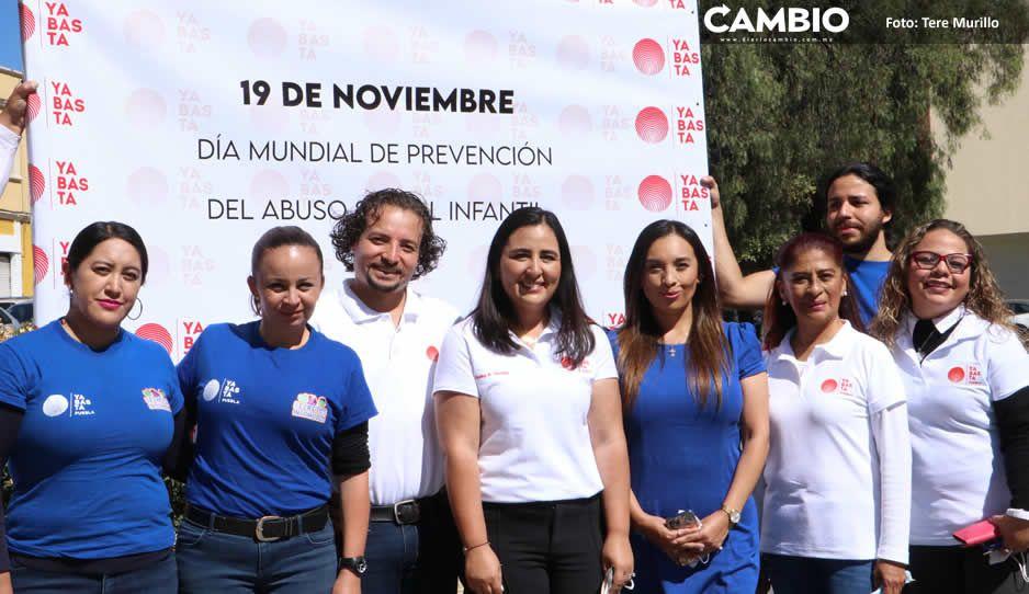 """Puebla, tercer lugar en abuso infantil en el país: """"Ya Basta"""""""