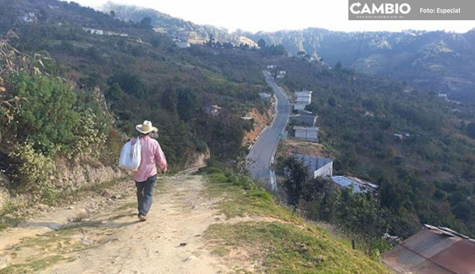 Monitorean constantemente la Sierra Negra; temen que los pobladores se queden incomunicadas