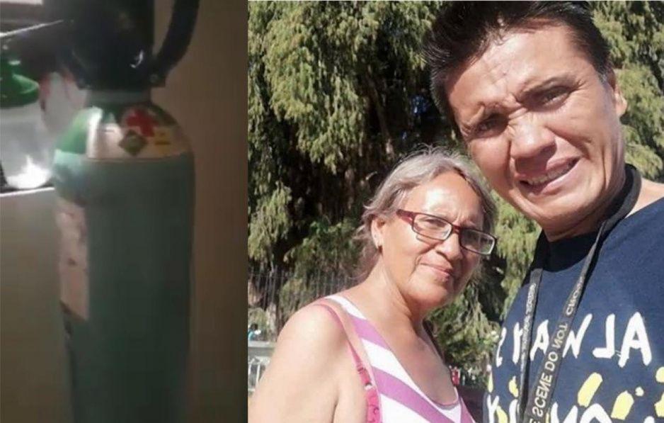 Mamá del médico héroe por fin recibe un tanque de oxígeno tras 20 días de calvario (VIDEO)