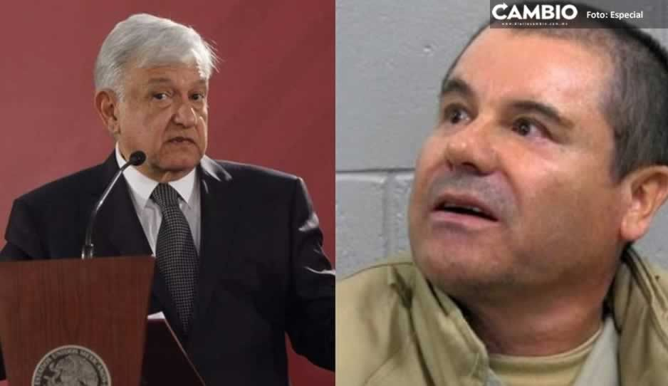 AMLO se disculpa por llamar Chapo a Joaquín Guzmán Loera
