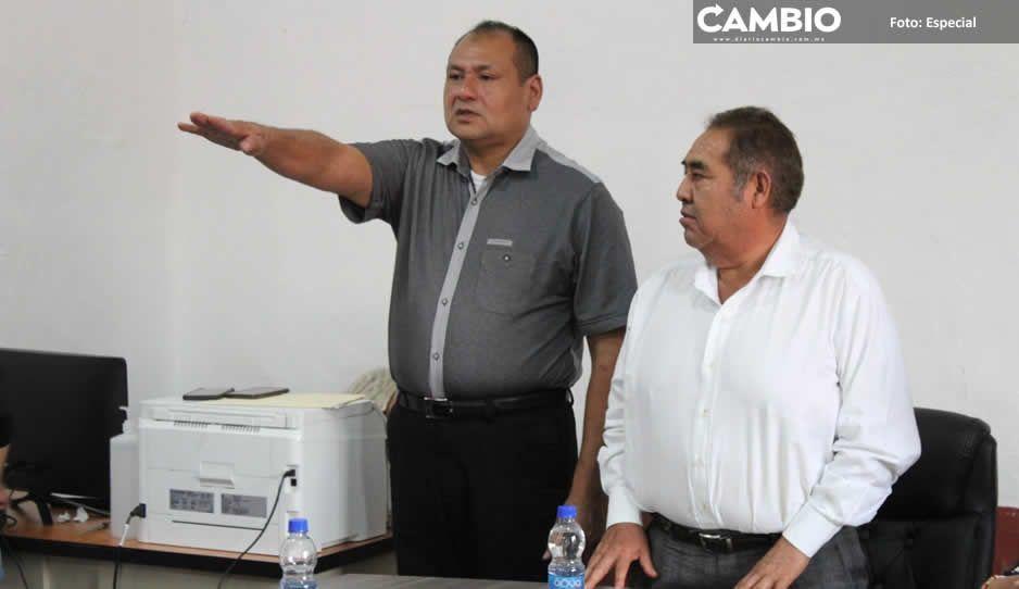 Toma protesta ante Cabildo de Amozoc  el nuevo Comisario de Seguridad Pública