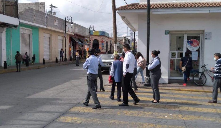 Protección Civil de Ciudad Serdán inicia recorridos para verificar afectaciones tras sismo de 7.5