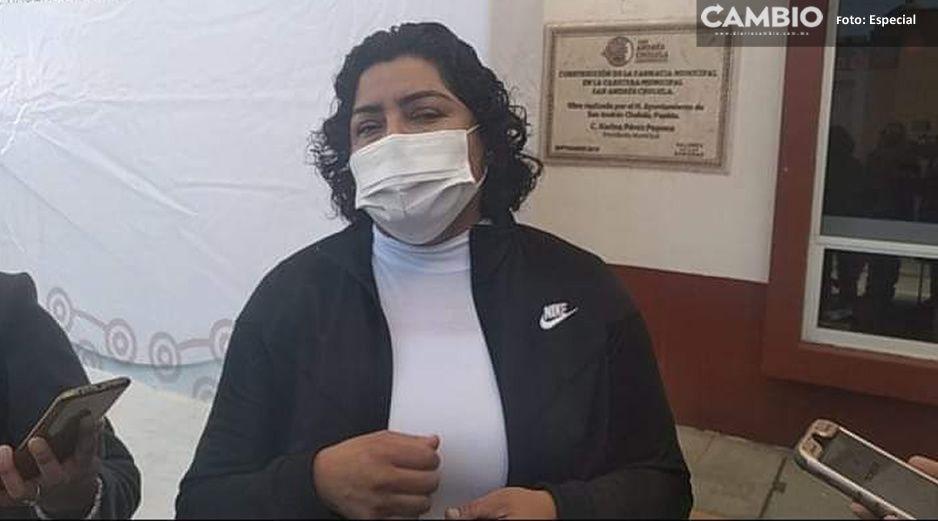 ¡Quedan advertidos! Pérez Popoca sancionará a comerciantes desobedientes en San Andrés Cholula
