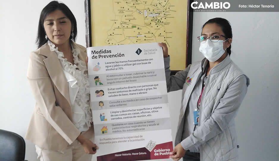 Confirma Jurisdicción Sanitaria 5 de Huejotzingo   seis casos de contagiados por cepa de coronavirus