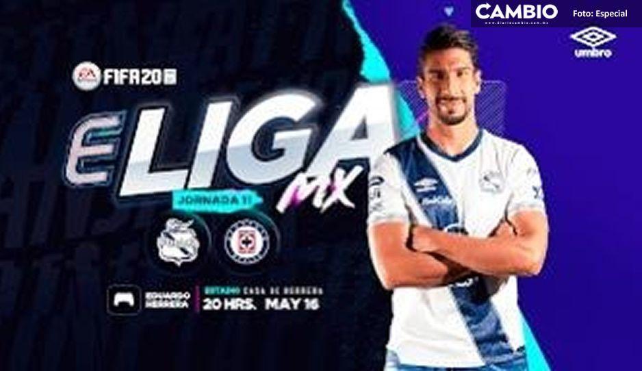 Lalo Herrera recibirá esta noche al Cruz Azul para el torneo virtual que se transmitirá por TV Azteca