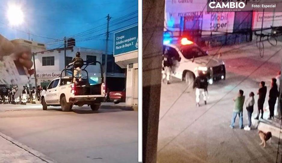 Fuerte movilización de policías y GN en Santa Catarina (VIDEO)