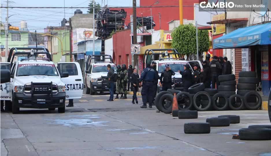 Hallan explosivos, drogas y autopartes de origen ilícito en la 46 (FOTOS y VIDEO)