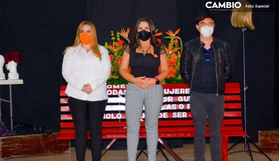 Norma Layón refrenda su compromiso para eliminar la violencia contra las mujeres texmeluquenses