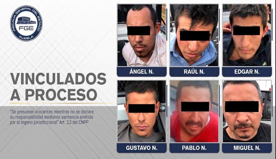 Fiscalía obtiene prisión preventiva contra la banda de El Malo en Chignahuapan