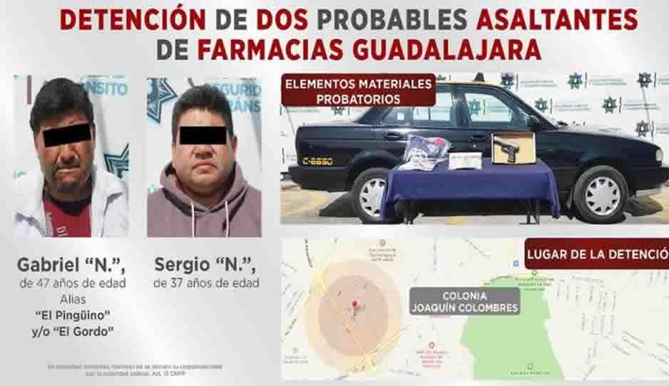 Cae a El Gordo, multiasaltante de tiendas Oxxos en Puebla