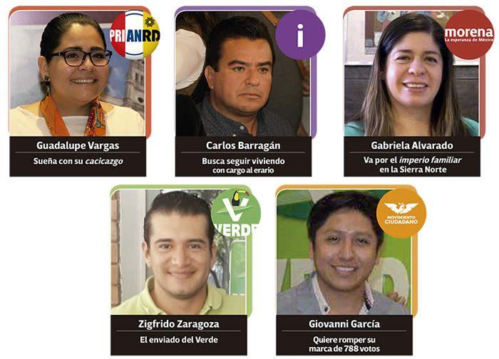 candidatos alcaldia xicotepec