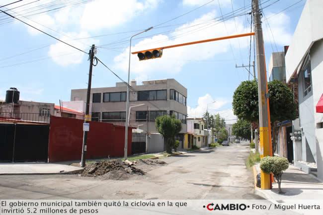 colocacion semaforos inversion ayuntamiento